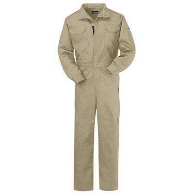 Bulwark® Ladies Excel FR ComforTouch 9oz Khaki Premium Coverall