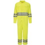 Bulwark® CoolTouch 2-7oz Hi-Visibility Deluxe Coverall with Reflective Trim