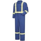 Bulwark® Ultrasoft Royal Blue Coverall with Striping