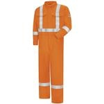 Bulwark® Ultrasoft Orange Coverall with Striping