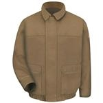 Bulwark® Excel FR ComforTouch Brown Duck Lined Bomber Jacket