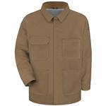 Bulwark® Excel FR ComforTouch Brown Duck Lineman's Coat