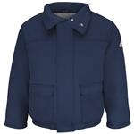 Bulwark® Excel FR ComforTouch Navy Insulated Bomber Jacket
