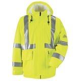 Bulwark® Hi Visibility Flame Resistant Rain Jacket CAT2