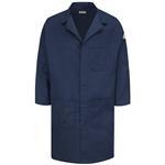 Bulwark® Excel FR ComforTouch 6oz Concealed Snap Front Lab Coat