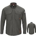 Bulwark iQ Series Long Sleeve Comfort Woven Lightweight Shirt