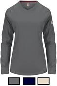 Bulwark iQ Series Ladies Charcoal Long Sleeve Tee