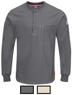 Bulwark iQ Series Plus Long Sleeve Henley