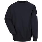 Bulwark® Cotton/Spandex Blend Pullover Crewneck Sweatshirt