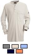 Bulwark Excel FR Long Sleeve Henley Shirt
