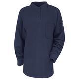 Bulwark Excel FR Long Sleeve Tagless Henley Shirt