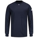 Bulwark Excel FR Navy Long Sleeve Tagless T-Shirt