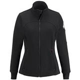 Bulwark® Ladies Zip Front Fleece Jacket-Cotton/Spandex Blend