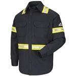 Bulwark Excel FR ComforTouch 7oz Enhanced Visibility Navy Long Sleeve