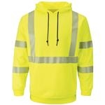 Bulwark® Hi Visibility Pullover Hooded Fleece Sweatshirt
