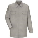 Bulwark Excel FR 7oz and Tuffweld 8.5oz Silver Gray Welding Work Shirt