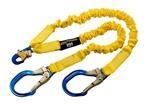 100% Twin Leg Aluminum Tie-Off Shock Absorbing Lanyard