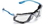 Clear Anti-Fog Lens CCS Protective Eyewear 11872-00000-20, with Foam Gasket