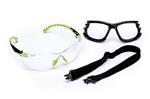 1000-Series, Green/Black, Clear Scotchgard™ Safety Glasses Kit