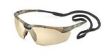 Conqueror® Camo Frame Bronze Mirror Safety Glasses