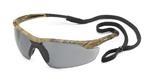 Conqueror® Camo Frame Gray Anti-Fog Safety Glasses