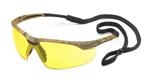 Conqueror® Camo Frame Amber Anti-Fog Safety Glasses
