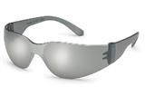StarLite® SM Gray Temple Silver Mirror Safety Glasses