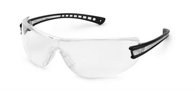 Luminary™ Black Temple Clear Anti-Fog Safety Glasses