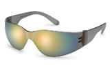 StarLite™ Gray Temple Red Mirror Safety Glasses