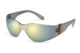 StarLite™ Gray Temple Gold Mirror Safety Glasses