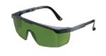 Strobe™ Black Frame IR Filter 3.0 Safety Glasses