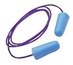 GLOPLUGZ™ Taperfit Blue Corded Earplugs, 100/BX, NRR of 31dB