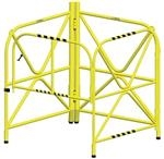 Manhole Guard Integrated Mast 42in