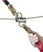Gravity® SureLine 40ft Steel Cable Horizontal Lifeline System with Turnbuckle