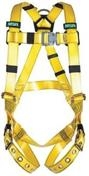 Gravity® Coated Web Harness with Back D-Ring and Tongue Buckle Straps