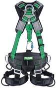 Gravity® Green Suspension Harness with Aluminum Back, Front, Ventral, and Hip D-Rings