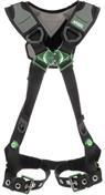 V-FLEX™ Harness with Back D-Ring and Tongue Buckle Leg Straps
