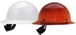 MSA Skullgard Full Brim Hard Hat with 4-Point Fas-Trac III Suspension
