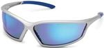 4x4® Silver Sport Frame with Horizon Blue Mirror Lens