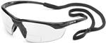 Conqueror® MAG Black Frame with Clear Lens and Diopter