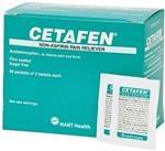 CETAFEN®, HART, acetaminophen 325 mg, 50/2's (100 total tablets) per box