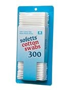 3in Double Tip Cotton Swabs, 300 Swabs per Box