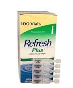 Refresh Plus Eye Drops, 100 per Box