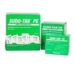 Sudo-Tab PE Decongestant, 125 Packets per Box