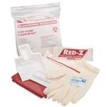 Body Fluid Clean-Up Kit, Zip Bag