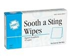 Sooth-A-Sting Wipes, 10 per Unit