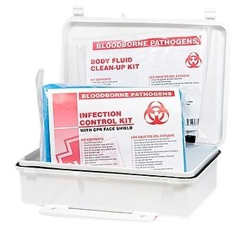 Infection Control and Body Fluid Clean-Up Kit