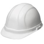 Omega II™ Adjustable Knob Ratchet Hard Hat - White